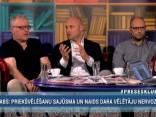 """""""Preses Klubā"""" viesos: Andris Kulbergs, Ivars Āboliņš un Egils Zariņš"""