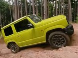 Suzuki Jimny bezceļos
