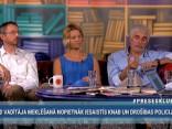 """""""Preses Klubā"""" viesos: Lolita Čigāne, Normunds Bergs un Aivars Borovkovs"""