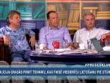 """""""Preses Klubā"""" viesos: Gunārs Kūtris, Jānis Liepiņš un Andrejs Ēķis"""