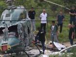 Ķīnā nogāzies civilais helikopters