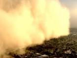 Smilšu vētra Arizonā