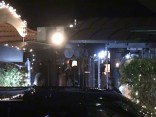 """Džordžs un Amala Klūniji pēc vakariņām restorānā """"Gatto Nero"""""""