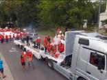 Krāšņi aizvadīts Rēzeknes pilsētas svētku gājiens