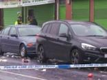 Mančestrā apšaudē desmit ievainotie